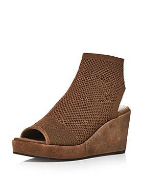 Eileen Fisher - Women's Warrick Stretch Fly Knit Wedge Sandals