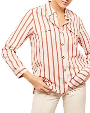 Nerina Striped Blouse