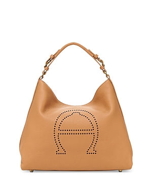 Etienne Aigner Stella Large Leather Hobo