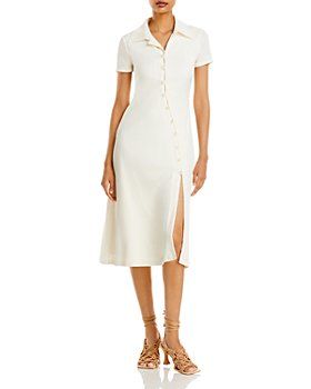 FORE - Collared Button Front Dress