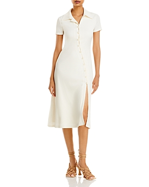 Collared Button Front Dress