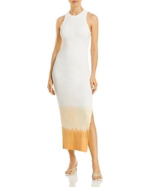 Fore Ombre Bodycon Midi Dress