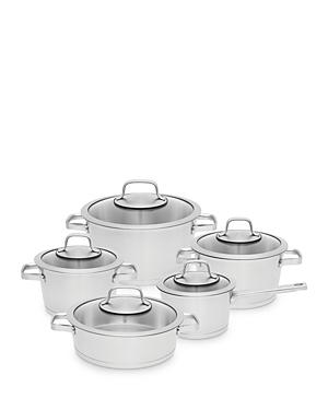 Essentials 10 Piece 18/10 Stainless Steel Cookware Set
