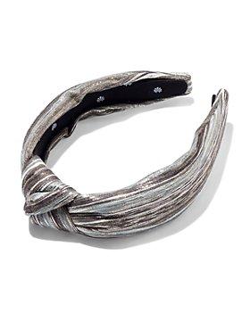 Lele Sadoughi - Mixed Metallic Knot Headband