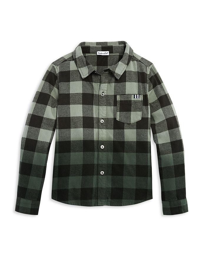 Splendid - Boys' Cotton Dip Dyed Checked Shirt - Little Kid