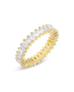 Adinas Jewels Cubic Zirconia Eternity Band