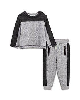 Splendid - Boys' Color Blocked Sweatshirt & Jogger Pants Set - Baby