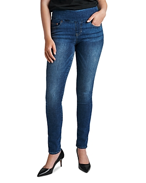 Nora Skinny Pull On Jeans in Durango Wash