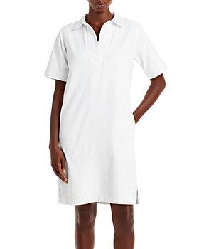 Ralph Lauren - Cotton Polo Collar Shift Dress