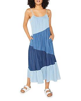 LIKELY - Reynolds Patchwork Denim Dress