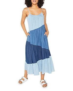 Reynolds Patchwork Denim Dress