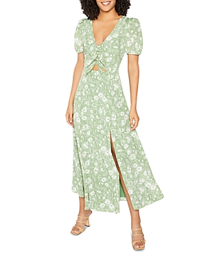 Alisa Cut Out Midi Dress