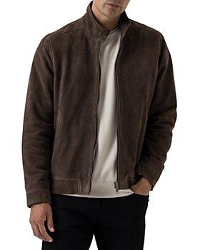 Rodd & Gunn - Glen Massey Suede Full Zip Jacket