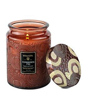 Voluspa - Forbidden Fig Large Jar Candle 18 oz.