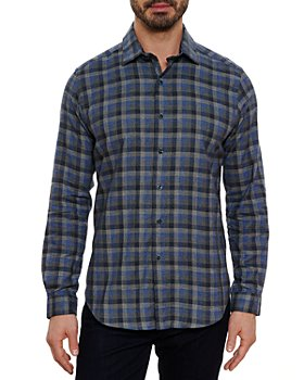 Robert Graham - Rosencrans Cotton Plaid Classic Fit Button Down Shirt