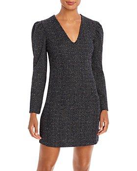 AQUA - Puff Sleeve Mini Dress - 100% Exclusive