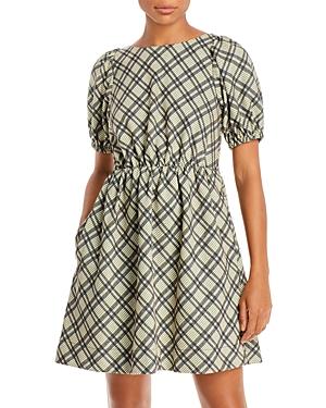 Lisa Plaid Dress