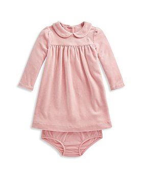 Ralph Lauren - Girls' Velour Dress & Bloomers Set - Baby