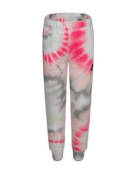 Nike - Girls' Club Fleece Tie Dyed Jogger Pants- Little Kid