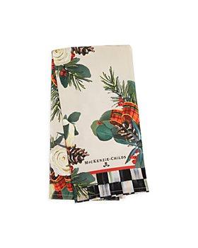 Mackenzie-Childs - Scottish Bouquet Dish Towel