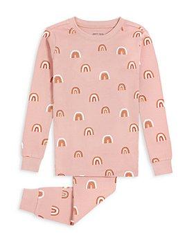petit lem - Girls' Rainbow Cotton Pajama Set - Little Kid, Big Kid