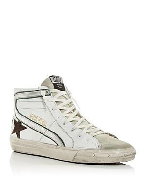 Golden Goose Deluxe Brand Men's Slide High Top Sneakers
