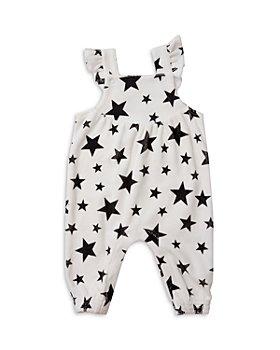 Angel Dear - Girls' Star Print Overalls - Baby