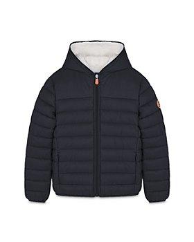 Save The Duck - Unisex Hooded Jacket - Little Kid, Big Kid