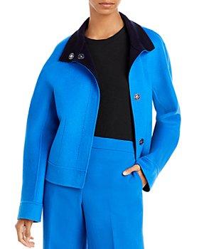 Lafayette 148 New York - Simone Reversible Wool & Cashmere Jacket