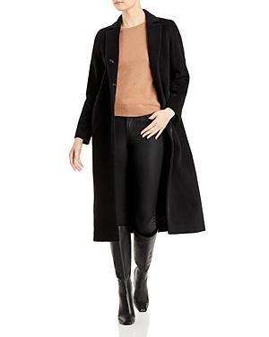 Long Wing Collar Coat
