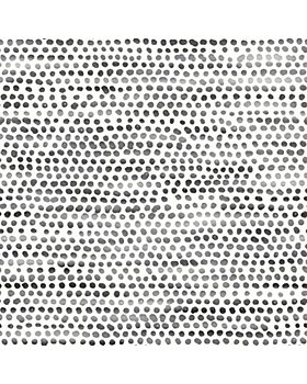 Tempaper - Moire Dots Self-Adhesive, Removable Wallpaper, Single Roll