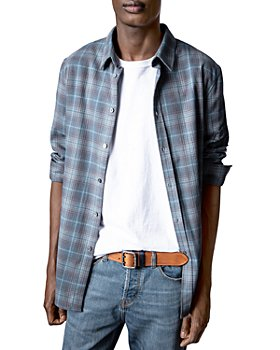 Zadig & Voltaire - Stan Checkered Button Down Shirt