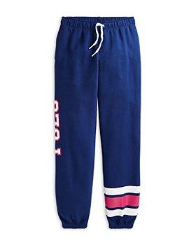 Ralph Lauren - Girls' Collegiate Jogger Pants - Little Kid, Big Kid