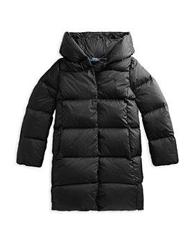 Ralph Lauren - Girls' Long Quilted Coat  - Little Kid, Big Kid