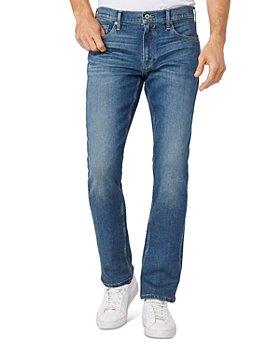 PAIGE - Lennox Straight Leg Jeans in Fox