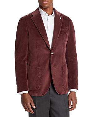 Garment Dyed Corduroy Slim Fit Sport Coat