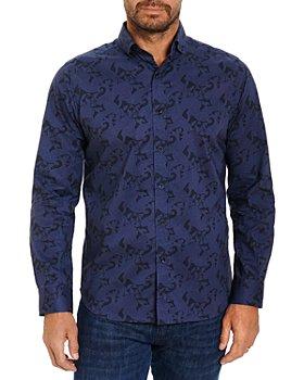 Robert Graham - Mantina Cotton Paisley Print Tailored Fit Button Down Shirt