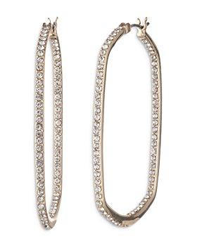 Ralph Lauren - Crystal Hoop Earrings