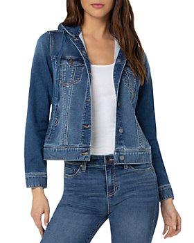 Liverpool Los Angeles - Hooded Denim Jacket