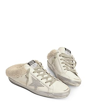 Golden Goose - Women's Sabot Glitter Star Slide Sneakers