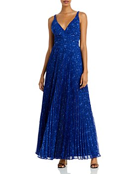 Laundry by Shelli Segal - Pleated Strappy Gown