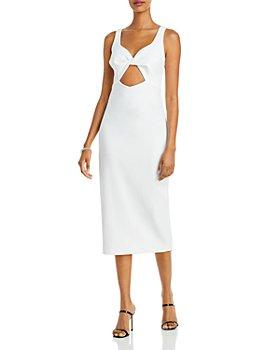 AQUA - Cutout Midi Dress - 100% Exclusive