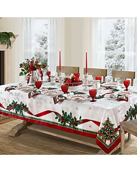 """Villeroy & Boch - Toy's Delight Engineered Rectangle Tablecloth, 120"""" x 60"""""""