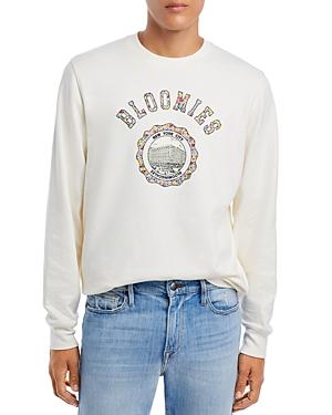 Bloomie's Unisex Cotton Crest Graphic Sweatshirt