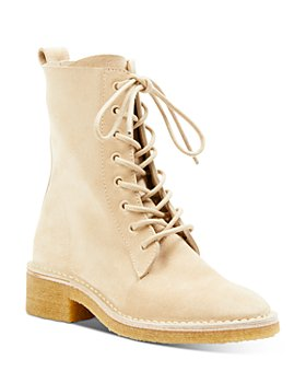 Chloé - Edith Lace Up Ankle Boots