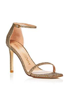 Stuart Weitzman - Women's Amelina Ankle Strap Dress Sandals