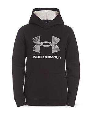 Under Armour Boys' Armour Fleece Logo Hoodie - Little Kid
