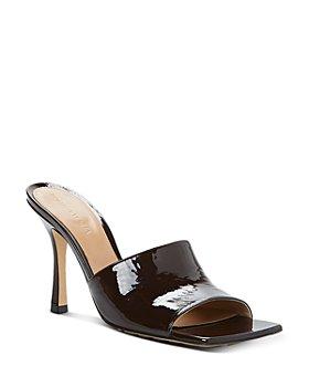 Bottega Veneta - Women's Square Toe High Heel Sandals