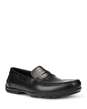 Geox Men's Monet 2 Fit Leather Penny Loafers