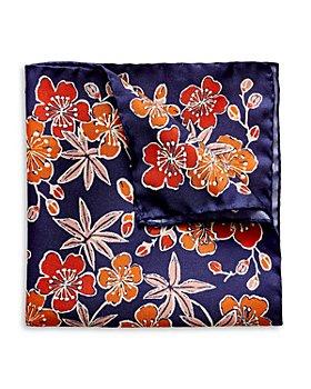 Eton - Silk Floral Pocket Square